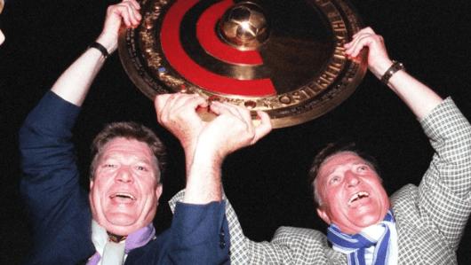 Rudi Quehenberger und Trainer Otto Baric