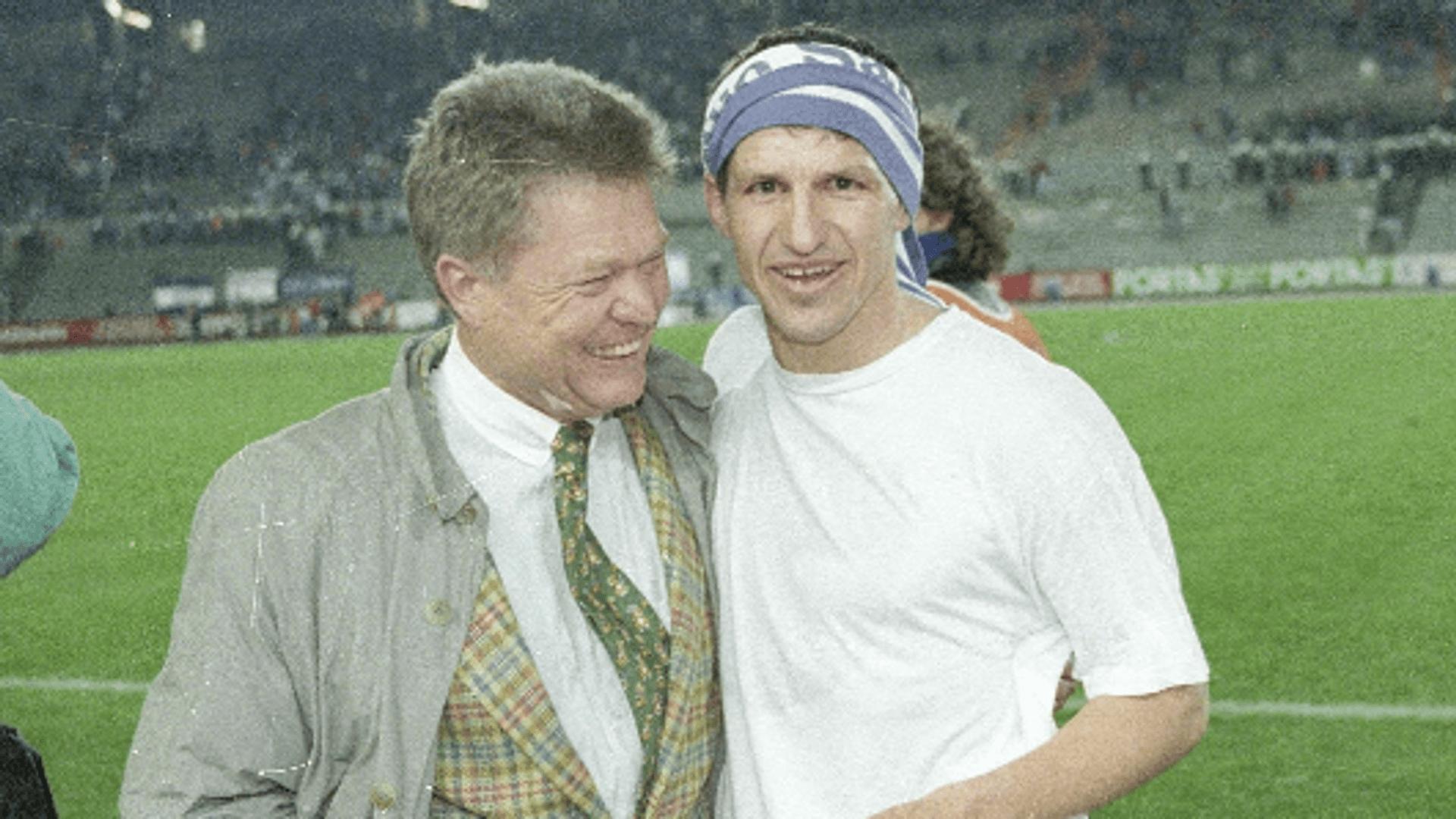 Leo Lainer (re.) mit dem ehemaligen Präsidenten