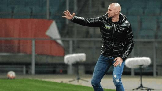 Sturm-Coach Ilzer steht mit seiner Elf im Cup-Vier