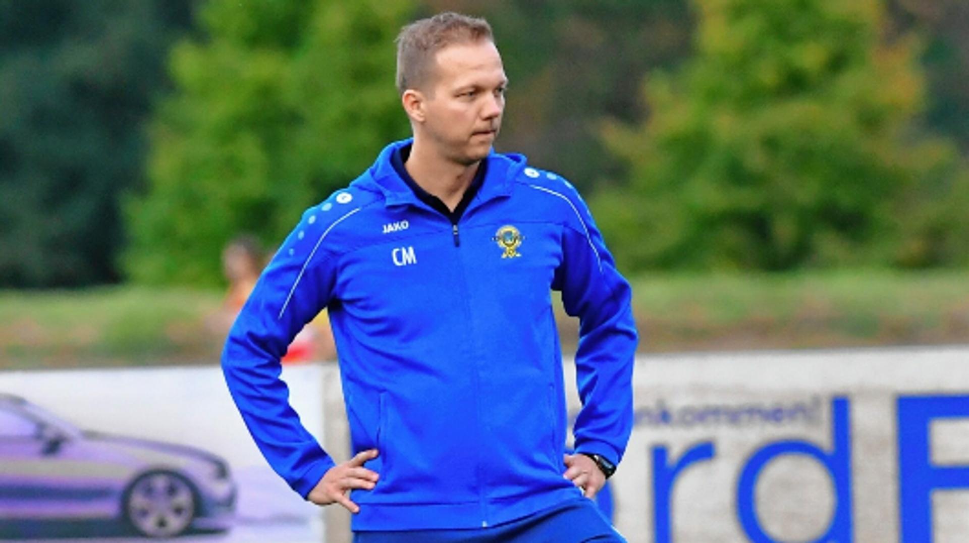 DSC-Coach Christoph Meier