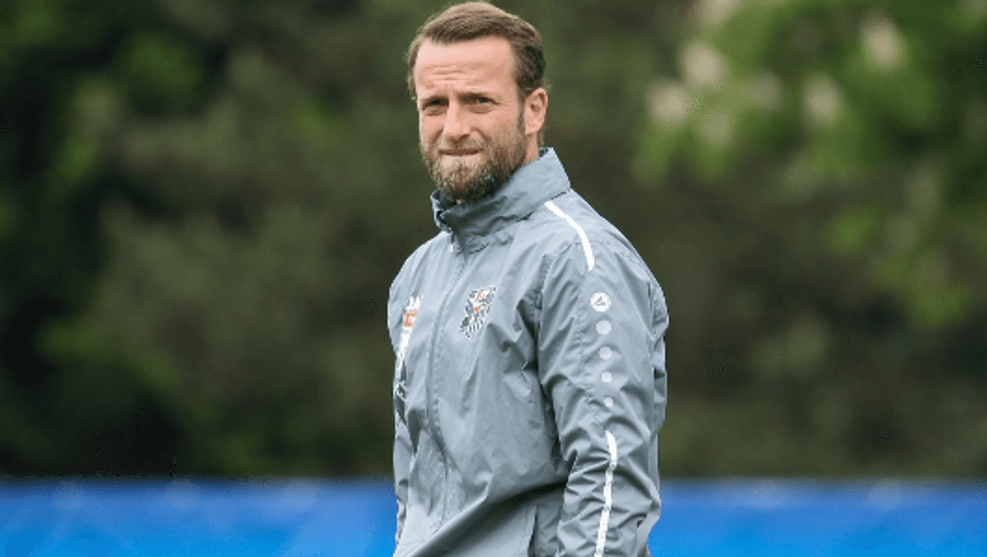 WAC-Coach Ferdinand Feldhofer