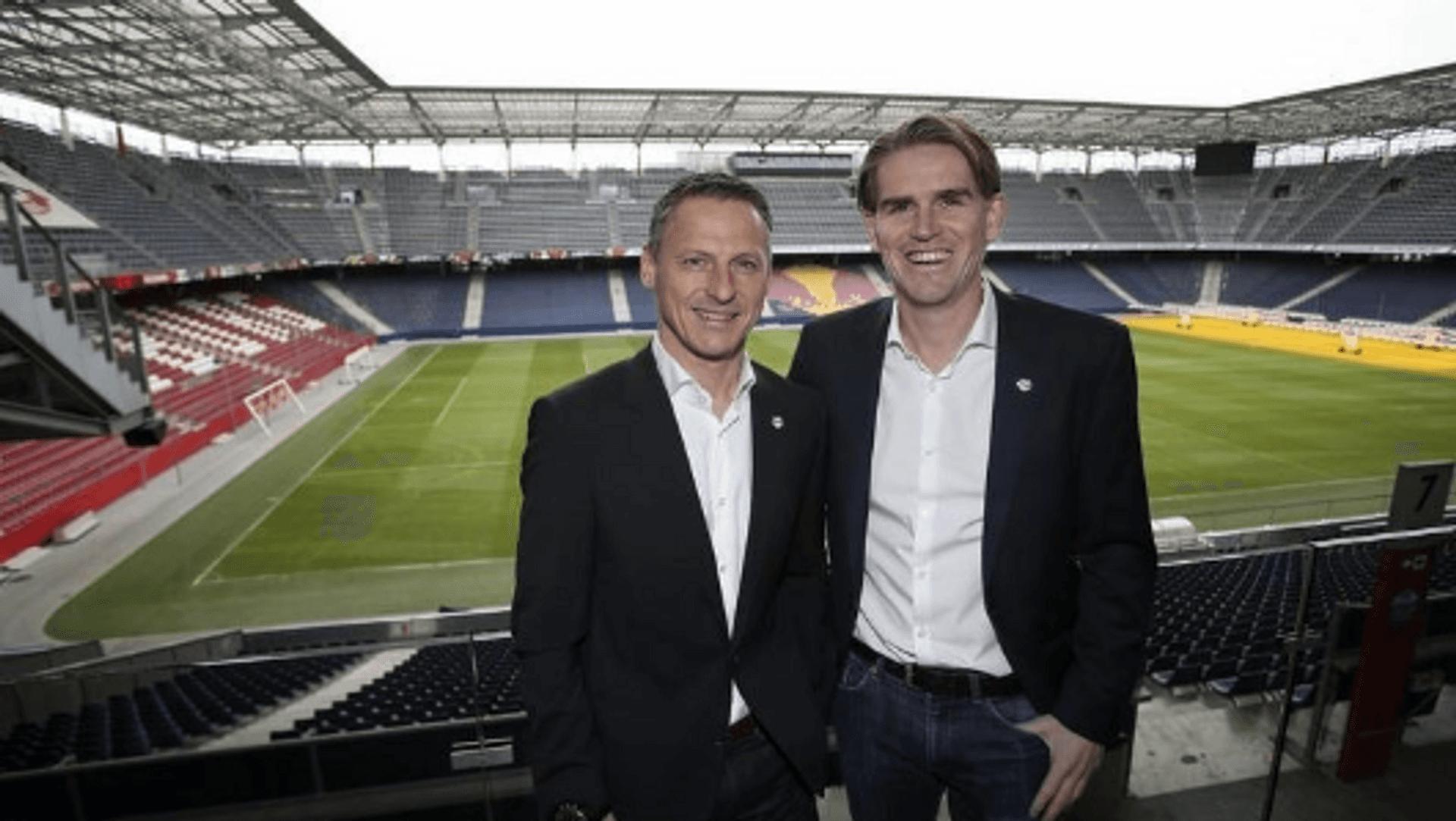 Stephan Reiter und Christoph Freund