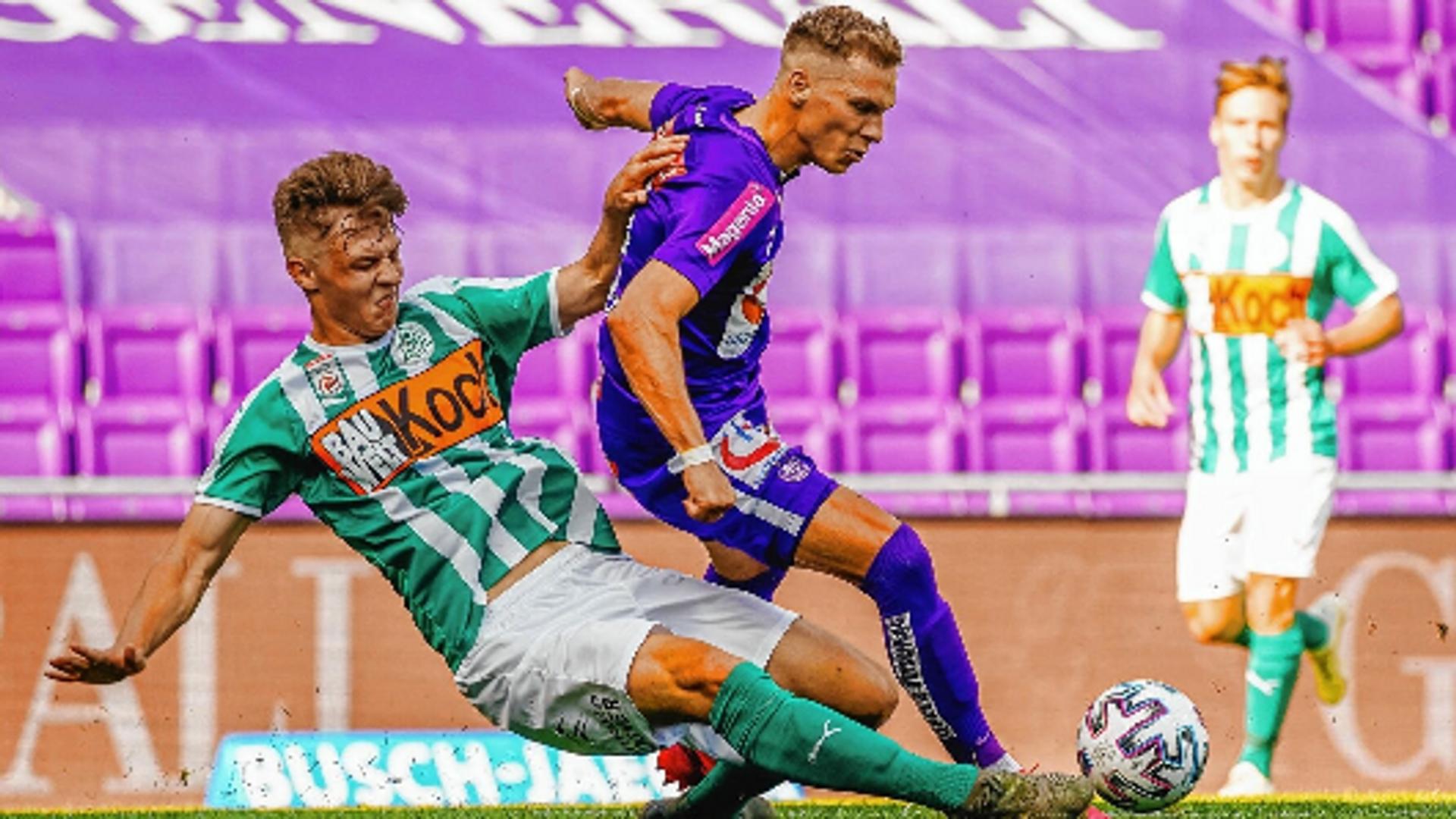 Bei Mattersburg reifte das U19-Juwel Nemeth