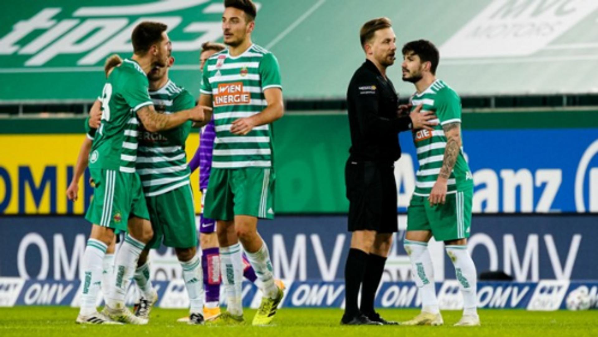 Derby-Frust beim SK Rapid: Thorsten Schick (links)