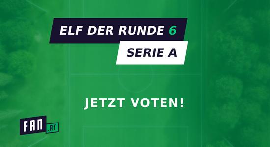 Vote die Elf der 6. Runde
