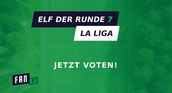 Vote die Elf der 7. Runde